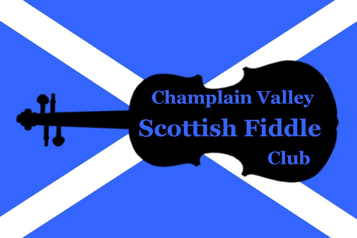 Champlain Valley Scottish Fiddle CLub Logo